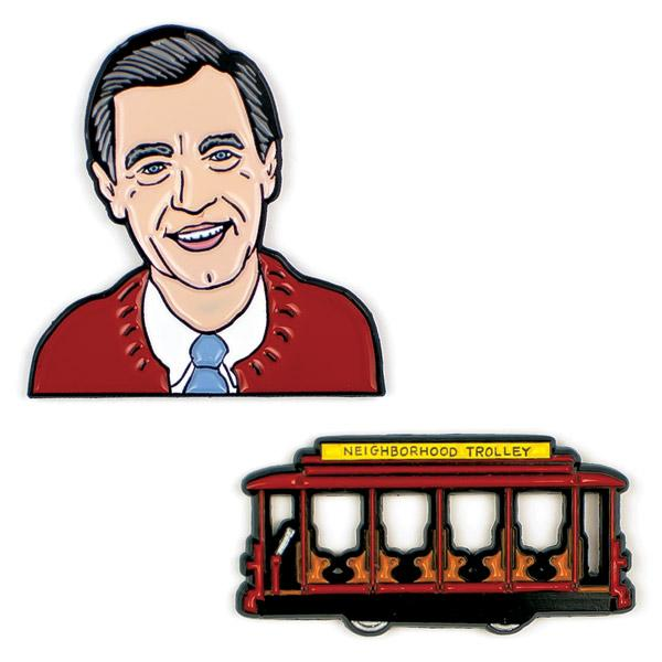 Mister Rogers Pins